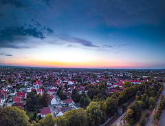 Sunset Soest (Peter Fuchs) Tags: soest sunset plange platz city altstadt haar dji mavic pro lightroom germany nrw deutschland