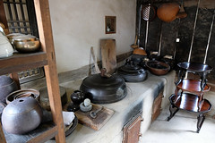 Kitchen (syf22) Tags: nationalfolkmuseum attraction tourist ancient old bygone ago past before exhibit display tradition oldsystem building kitchen cooking food preparation prepare dinning dinner tea meal