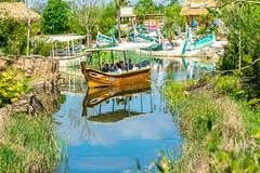 Lazy River boat ride (Tony Shertila) Tags: upton england unitedkingdom europe britain cheshire chesterzoo zoo chester river lazy boat islands