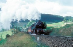 95 1027  Sonneberg  06.09.85 (w. + h. brutzer) Tags: sonneberg eisenbahn eisenbahnen train trains deutschland germany railway dampfloks steam lokomotive locomotive zug db dr dampflok webru analog nikon 95