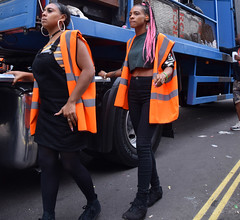 DSC_8369a Notting Hill Caribbean Carnival London Girls Aug 27 2018 Security Marshals Stunning Ladies (photographer695) Tags: notting hill caribbean carnival london girls aug 27 2018 stunning ladies security marshals