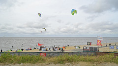 The location of the Cuxhaven Surf School at Doese. (Manfred_H.) Tags: landscape seashore beach surfing windsurfing kitesurfing training cuxhaven doese sahlenburg