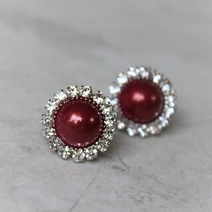 Wine pearl earrings with hypoallergenic posts and backings! https://t.co/JBJ560ASc2 #etsy #jewelry #wedding #shopping #handmade #gift https://t.co/0qCIbdYMqW (petalperceptions.etsy.com) Tags: etsy gift shop fashion jewelry cute