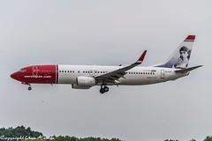 Norwegian (Knud Rasmussen livery) EI-FJA (A) (U. Heinze) Tags: aircraft airlines airways airplane planespotting plane flugzeug haj hannoverlangenhagenairporthaj eddv nikon