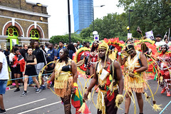DSC_8093 Notting Hill Caribbean Carnival London Exotic Colourful Costume Girls Dancing Showgirl Performers Aug 27 2018 Stunning Ladies (photographer695) Tags: notting hill caribbean carnival london exotic colourful costume girls dancing showgirl performers aug 27 2018 stunning ladies