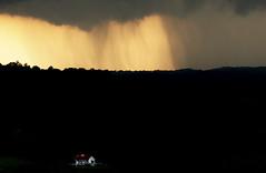 Rain over the white House (Klaus Ficker --Landscape and Nature Photographer--) Tags: rain storm house black clouds sunset dark light kentuckyphotography klausficker canon eos5dmarkiv usa kentucky frankfort weather