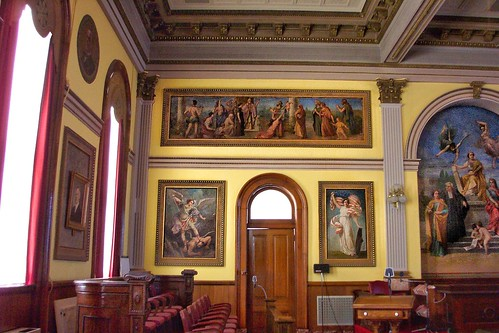 Van Wert Ohio - Van Wert County Courthouse is a historic governmental building in downtown Van Wert - Interior