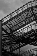 my stairs (P. Marione) Tags: photography photographie fotografie photos photographies fotos photo foto picture image beeld bild pm marione nikon d810 raw black noir zwart schwarz negro white blanc wit weiss blanco blackandwhite noiretblanc zwartenwit monochrome bw nb zw mono blackwhite noirblanc zwartwit bandw netb zenw schwarzweiss negroblanco stairs escalier marches steps sky ciel