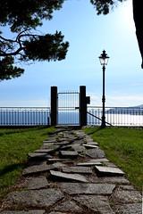 A gate on the sea (Kemako Team) Tags: gate sea mare sanremo liguria nikon d3100