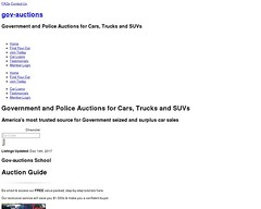 Gov Auctions.org #1 US Government Car Auctions Police Auto Auctions Seized Cars Repos (wkozarew) Tags: gov auctionsorg 1 us government car auctions police auto seized cars repos
