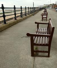 Parallels (probis pateo) Tags: benches railings beach promenade parallels tz200