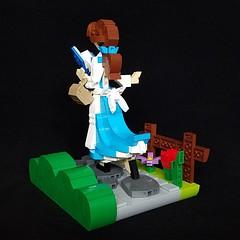 Belle (retinence) Tags: lego moc disney character princess belle beautyandthebeast female