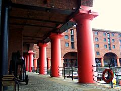 Royal Albert Docks, Liverpool, England (teresue) Tags: 2017 uk unitedkingdom greatbritain england merseyside liverpool albertdock royalalbertdock liverpooldocks