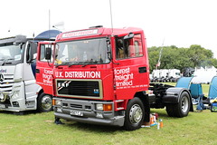Forest Freight 1990 ERF H567CJF Paddock Wood Truckfest 2018 (davidseall) Tags: forest freight 1990 erf h567cjf h567 cjf truck lorry tractor unit artic large heavy goods vehicle lgv hgv old british paddock wood truckfest show 2018