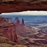Mesa Arch and the Spectacular Views Beyond thumbnail