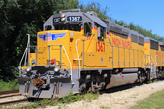 GP40N (HighHor$epower) Tags: up1367 uplsf54 imrr springfield gp40n unionpacific springfieldsubdivision roster