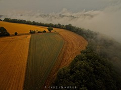 the mood is back... — [explored] (mikeALPHA.charly) Tags: rhinelandpalatinate germany deutschland rheinlandpfalz eifel leadingline landscape cloud inversion fog outdoor dronephotography aerialphotography aerial flying phantomiii drone dji