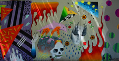 Mural (davidwilliamreed) Tags: mural vivid color street art