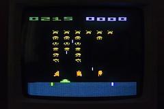 Space Invaders on Atari 2600, circa 1983, Photo by @luisacivardi @verdebinario #atari #spaceinvaders #invaders #aliens #console #retrogaming #retrogames #videogames #gamers #gaming #retroconsole #computer #circuit #maker #laboratory #programmable #tech #t (Museo dell'Informatica Funzionante) Tags: musif miai freaknet dyneorg trasformatorio