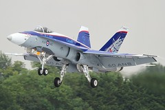 (scobie56) Tags: royal canadian air force cf18 hornet 60th anniversary norad captain stefan porteous bagotville cold lake canada riat international tattoo fairford 2018 rcaf