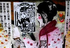 streetart in Amsterdam (wojofoto) Tags: amsterdam nederland netherland holland streetart wojofoto wolfgangjosten gingergunshot pasteup wojo jdpk bunnybrigade