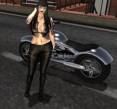 Come Ride With Me (beccaprender) Tags: fabia catwa catya bento maitreya lara glamaffair rina marley queenofink motorcycle boundelegance boundtoexcite