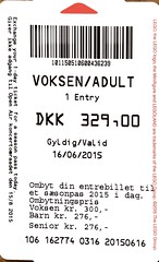 "Eintrittsbillett Legoland, Billund • <a style=""font-size:0.8em;"" href=""http://www.flickr.com/photos/79906204@N00/30476850458/"" target=""_blank"">View on Flickr</a>"