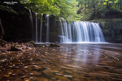 Sgwd Ddli Uchaf waterfall (andyp178) Tags: waterfall water breconbeacons longexposure ndfilter rocks mist pontneddfechanwaterfalls naturalbeauty nikon tamron river landscape forest trees wales uk rock tree stream creek people