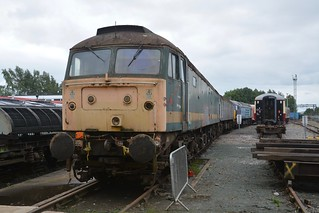 Long Time Stored Class 47/8's 47811, 47816 & 47841