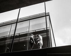 Checking the Phone (Poul_Werner) Tags: blåvand danmark denmark jdr jydskedragonregiment rmf ritmesterforening tirpitz architecture arkitektur military militær museum outing tur udflugt regionofsoutherndenmark dk blackwhite