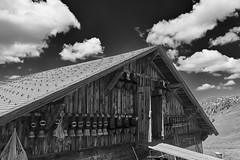 Swiss Alp House (ivoräber) Tags: swiss alp house black white sony switzerland schweiz systemkamera suisse