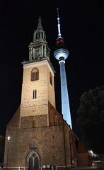 St Marys' Church and the TV Tower (Bazza3000) Tags: stmaryschurch tvtower berlin