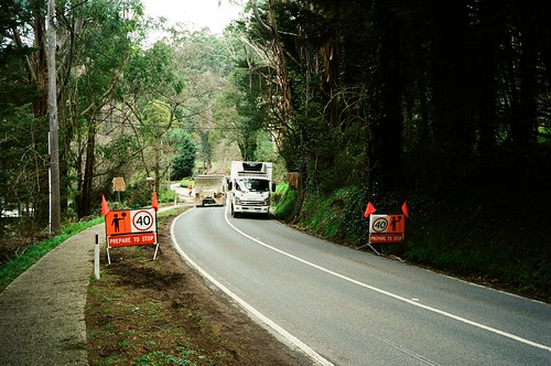 Mount Dandenong Tourist Road - Prepare to Stop