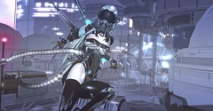 Karambiak (Kimiko Mazoku) Tags: insilico shoda neoshoda cyberpunk cyborg bionic scifi dystopia tentacles karambit katana