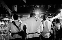 Patrol of musiciens (magat129245) Tags: leica m5 kodak tmax p3200 medieval market fuengirola september 2018 ilfotechc spain polishinmorocco castle feria fiesta holiday shootfilm shotfilm analog blackwhite blackandwhite blancnoir blanconegro filmcommunity filmshooters filmn music musiciens 35mm nightshot lowlight