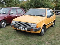 1984 Nissan Micra 1.0 GL (quicksilver coaches) Tags: nissan micra a980wgn datsun miltonkeynes