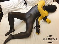 [原创篇] (紧身英雄战士) Tags: fetish dc spandex comic lycra hero zentai superhero cosplay