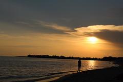 Punta Prosciutto (serp13) Tags: puntaprosciutto salento sunset sea seaside puglia apulia italy sun goldenhour water beach beachside landscape seascape summer september orange
