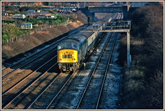 A Peaky New Year (david.hayes77) Tags: 45148 sinfin derby derbys derbyshire 1978 newyear peak class451 sulzer allotments caxtonstreet mark1carriage class45 1coco1