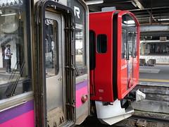 701 & ACCUM (しまむー) Tags: panasonic lumix dmcgx1 gx1 g 20mm f17 asph trip train yuri highland railway 由利高原鉄道