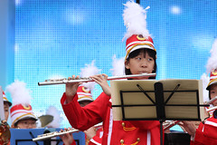 IMGL4076 (taticoma) Tags: brassband brass music musician child china red school teenage girl girls flute flutist