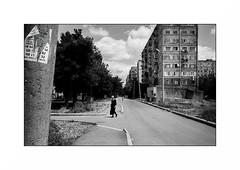 Rustavi - Georgia (Punkrocker*) Tags: leica m7 summicron asph 35mm 352 film kodak trix 400 nb bwfp street city people rustavi georgie georgia travel