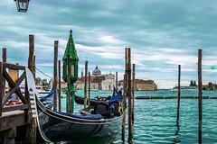 Venetia (cristian_jordache) Tags: venice venetia gondola italy europe water adriatic sea gulf teal sony a6000 alzavola