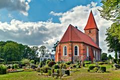 One for all (Explored on 03.09.2018) (c.bartsch) Tags: fz1000 panasonic rastede schlossgarten dmc lumix darktable hdr church kirche park 7xp