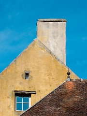 Cathédrale à Vézelay (brunomalfondet) Tags: tuiles vézelay bourgogne toits avril