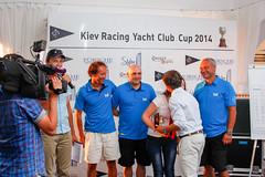 KRYC CUP 2014-4445 (amprophoto) Tags: sail sailing sailingyacht sailboat yachtrace regatta water wind white blue beneteau platu25 peoples sky sport spinnaker fun smile