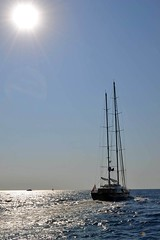 Crossing to Spetses (abranea) Tags: peloponese greece tallship spetses