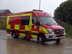 6140 - GMFRS - PO67 CJX - 101_2553 (Call the Cops 999) Tags: 999 112 uk gb united kingdom great britain england north west emergency service services fire and rescue open day saturday 8 september 2018 rochdale greater manchester tru technical response unit mercedes benz sprinter po67 cjx
