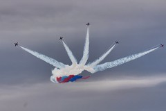 scottish air show 2018 (anna n rob) Tags: scottishairshow scotland ayr ayrshire redarrows planes aeroplanes acrobatic smoke colours airforce raf display reds team formation