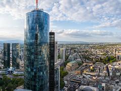 Blick vom Omniturm (Frawolf77) Tags: omniturm frankfurt aussicht baustelle skyline maintower kaiserdom ezb ecb highrise skyscraper